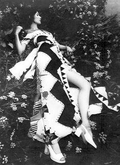 1960s dress by Ossie Clark and Celia Birtwell