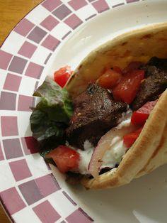 Basil: Cumin and Oregano Marinated Beef Kebabs - Can use for Gyro ...