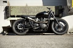 johnandmario:2009 Triumph Bonneville, Corsair Project built by Spanish custom shop Cafe Racer Dreams #motorcycles #bratstyle #motos   caferacerpasion.com