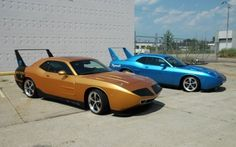 Heide Turns Dodge Challenger Into Classic Charger Daytona, Plymouth Superbird
