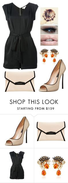 """Untitled #105"" by smolllie ❤ liked on Polyvore featuring Casadei, Givenchy, Helmut Lang and Bijoux Heart"