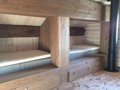 Skurdalen - HYTTE 115 m2 under bygging til salgs. My Dream Home, Bunk Beds, Interior And Exterior, Sweet Home, Real Estate, Cabin, Mountains, House, Inspiration