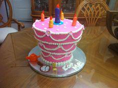 Alice in Wonderland Unbirthday Cake