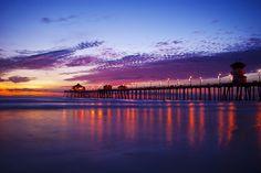 Purple Reflection - Long Beach, California