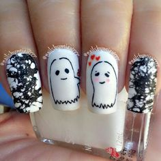 halloween by nailsbymiawrrr #nail #nails #nailart