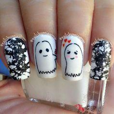 halloween by nailsbymiawrrr #nail #nails #nailart