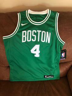 9acc700bddff Details about Nike Boston Celtics Isaiah Thomas  4 Basketball Jersey NWT  Size L Youth