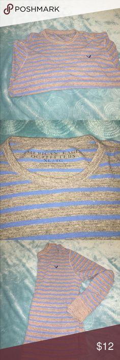 American Eagle long sleeve shirt Long sleeve shirt.   American Eagle    good condition.    Size XL American Eagle Outfitters Shirts Tees - Long Sleeve