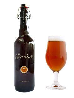 Cerveja Artesanal - Sovina Amber 0,75l - Cerveja Artesanal, caseira, tradicional, saborosa, natural