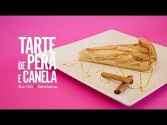Receita de Tarte de Pera e Canela - YouTube
