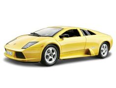 The Burago Lamborghini Murcielago, is a diecast model car from this fantastic manufacturer in 1/24th scale. Bburago's range of 1/24 scale die cast cars offer the collector detail and value for money. With subjects spanning motoring era's old and new and from some of the world's biggest car names, there's sure to be something for all collections. Each model has been replicated in 1/24 scale meaning you can collect and show more in a smaller space.
