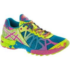 ASICS GEL-Noosa Tri™ 9 Women's Capri Blue/Raspberry/Lime at holabirdsports.com