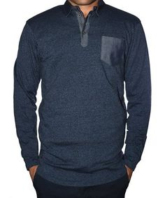 3b612d13b565 Look what I found on Navy Marled Polo Sweater by StraightFaded. Stacey  Kehoe · Men s Clothes