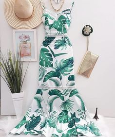 No photo description available. Summer Wedding Outfits, Spring Outfits, Modest Dresses, Summer Dresses, Girl Fashion, Fashion Outfits, Batik Dress, Love Clothing, Just Girl Things