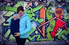 Jackenerweiterung für eine Babytrage und Schwangerschaft - Nähanleitungen bei Makerist