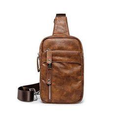 Eagle Embossing Crossbody Chest Bag Men Pu Leather Fanny Pack Original Design Streetwear Rivets Belt Bag Rock Fashion Bum Bag Men's Bags Waist Packs
