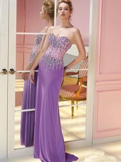491dcc9d79d4 Sexy Beaded Lilac Chiffon Evening Dress Formal Dress Prom Dress Ace 6232 Homecoming  Dresses