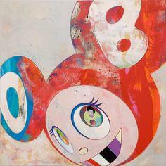 """Takashi Murakami - Superflat (postmodern art) - """"And Then, And Then And Then And Then And Then"""" Superflat, Japanese Prints, Japanese Art, Japanese Design, Takashi Murakami Prints, Javier Marin, Postmodern Art, Art Japonais, Arte Pop"""