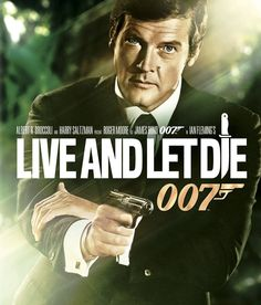 The first Roger Moore Bond Film, 1973.