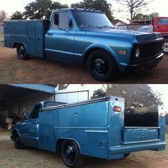Lowered Trucks, C10 Trucks, Pickup Trucks, 67 72 Chevy Truck, Chevy C10, Chevrolet, Utility Bed, Utility Truck, Shop Truck