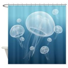 Jellyfish Shower Curtain> Even More Shower Curtains> cheriverymery