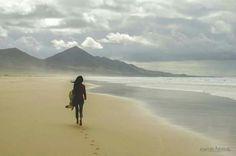 Playa de Cofete, Fuerteventura, Islas Canarias, Spain.