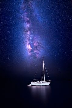 Night Sailing (2014 Edit) by Jesse Summers on 500px