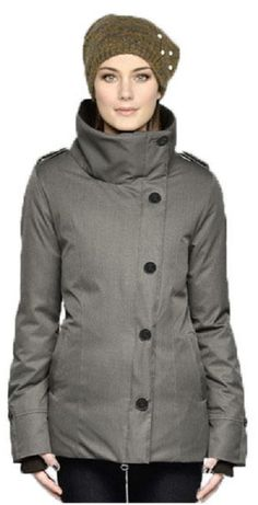 Is Women S Miriam Jacket In Grey Winter Jackets Gray Coat