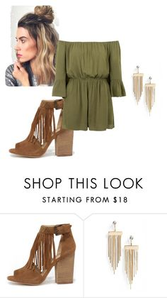 """Untitled #18"" by catherinepl ❤ liked on Polyvore featuring Chinese Laundry and Topshop"