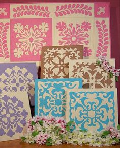 Shows how to make Hawaiian quilts using applique patterns which creates 2 blocks out of 1 pattern!