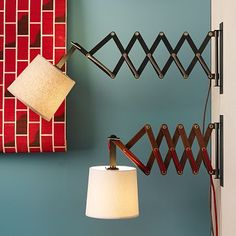 Accordion Sconces #WestElm