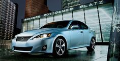 Cerulean Blue Lexus - Sloane's car, which she takes great pride in.