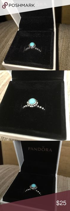 PANDORA RING This ring is brand new I bought it off of posh but it didn't fit me so I'm looking to sell it Pandora Jewelry Rings