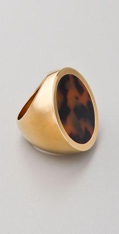 Michael Kors Tortoise Ring
