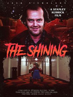 The Shining by Justin Peikert - Home of the Alternative Movie Poster -AMP- The Shining Film, Shining 2, Halloween Movies, Scary Movies, Danny Lloyd, Scatman Crothers, Terror Movies, Alternative Movie Posters, Stanley Kubrick