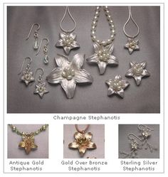 Sylvan Spirit: floral jewelry