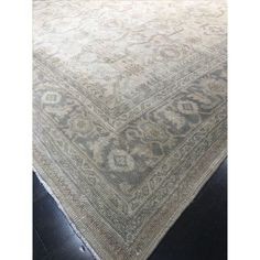 Image of Vintage Turkish Oushak Rug - 8′ × 10′4″