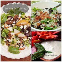 20+ Paleo Salad Dressing Recipes!