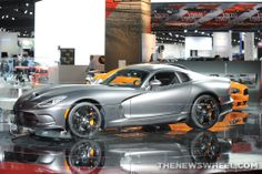 2014 #SRT #Viper GTS Anodized Carbon Special Edition at NAIAS #Cars