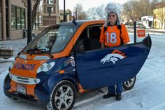 Bronco Smitty: From Elway to Manning, Myron Smith remains No. 1 Denver Broncos fan !