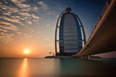 Burj Al Arab, Dubai, UAE by Arnodil, via Flickr
