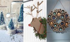 Wil jij de kerst in huis halen en lekker creatief aan de slag? We geven je negen ideeën voor toffe én goedkope DIY kerstdecoraties.