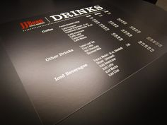 Lookout for this new @JJBeanCoffee Menu Board at their  @granville_isle location! #drinks #coffee (PHOTO)