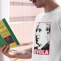 Julius Evola, Right Wing, Politics, War, Store, Birthday, Check, T Shirt, Products