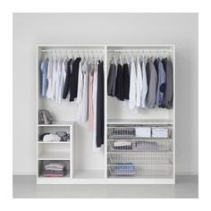 ПАКС Гардероб - стандартные петли, 200x60x201 см - IKEA 20550