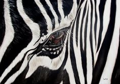 Shop for zebra art from the world's greatest living artists. All zebra artwork ships within 48 hours and includes a money-back guarantee. Choose your favorite zebra designs and purchase them as wall art, home decor, phone cases, tote bags, and more! Zebra Painting, Zebra Art, Eye Painting, Canvas Art, Canvas Prints, Art Prints, Animal Prints, Zebra Kunst, Thing 1