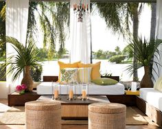 Tropical Patio Ideas