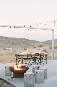 A Dreamy Desert Chic Event in Joshua Tree, California Styled by Rachael Lunghi. Photos by Mike Radford, Styling / Planning by Lace & Likes