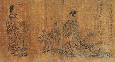 晋-顾恺之-列女仁智图9   Painted by the Jin Dynasty artist Gu Kaizhi 顾…   China Online Museum - Chinese Art Galleries   Flickr