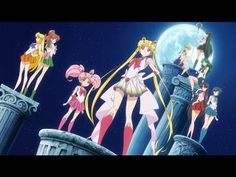 Sailor Moon Crystal Season 3 Opening - New Moon ni Koi Shite (In Love With The New Moon ) #sailormooncrystal Love it!! : )
